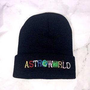 NEW Astroworld Travis Scott black beanie